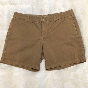 J. Crew Beige Distressed Chino Shorts 14